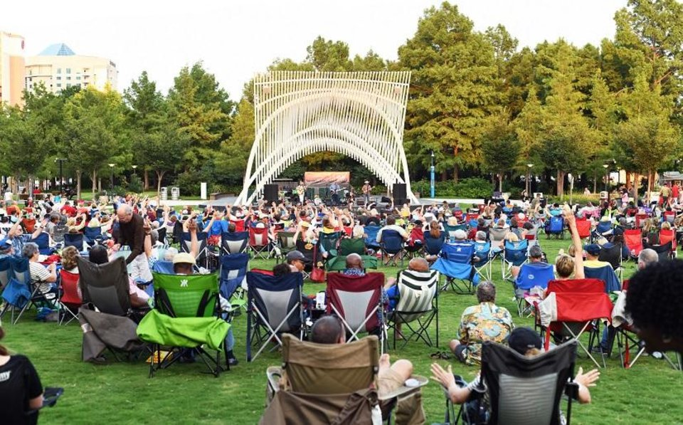 Photo - The Arts Council Oklahoma City plans to launch its Sunday Twilight Concert Series tonight at the Myriad Gardens. [Photo provided]