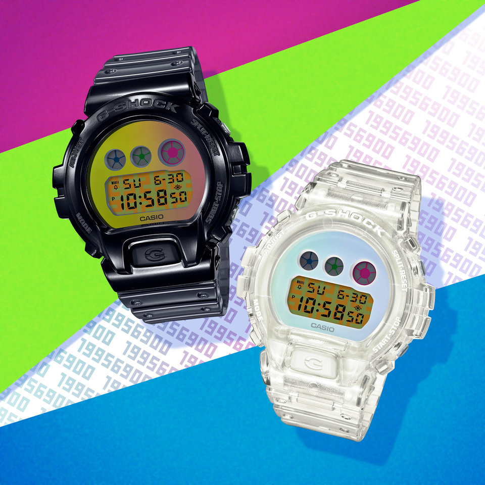 Photo - Casio G-Shock's two limited-edition CW6900 watches offer a modern take on the original style.