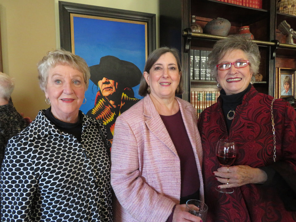 Photo - Polly Worthington, Judy Austin, Julia Hunt. PHOTO PROVIDED