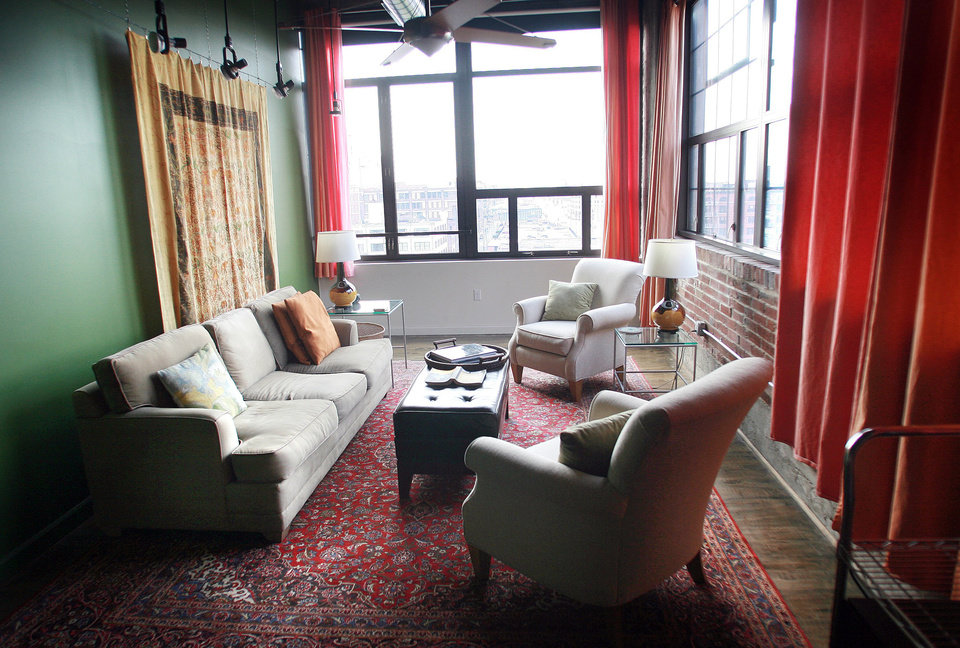 The Living Room Of Steve Mnichu0026#8217;s Loft In St. Louis Features Part 97