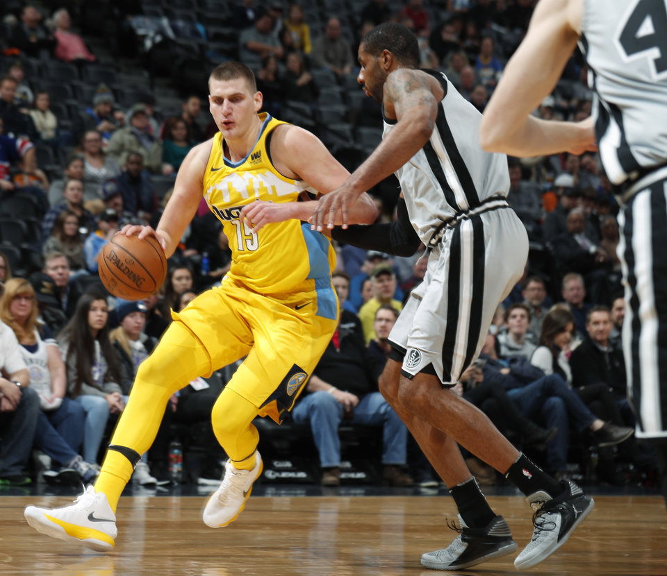 Jokic's Triple-double Leads Nuggets Over Spurs, 122-119
