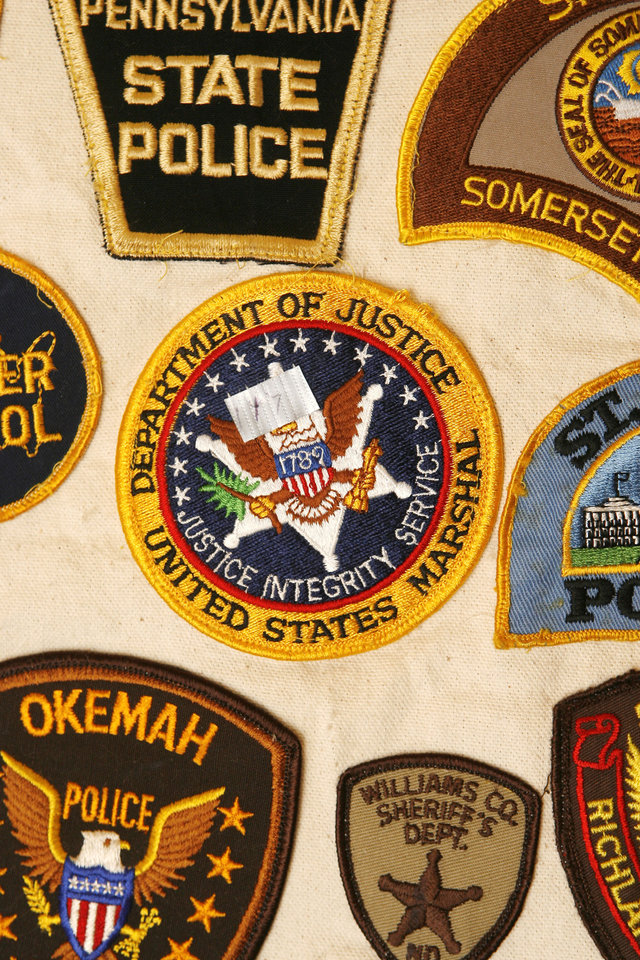 Patch-work collection<br/><span class='hl2'>Former officer continues