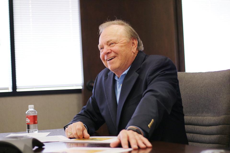 Photo -  Despite the ongoing oil industry downturn, Continental Resources CEO Harold Hamm said the industry will recover and enjoy a