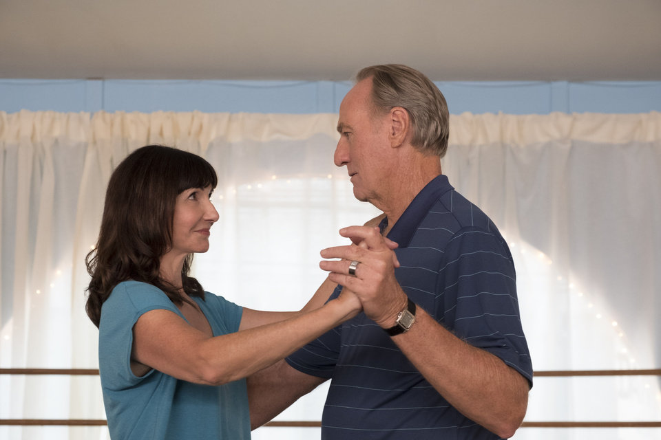 Photo -  Mary Steenburgen and Craig T. Nelson play a married couple in the 2018 romantic comedy
