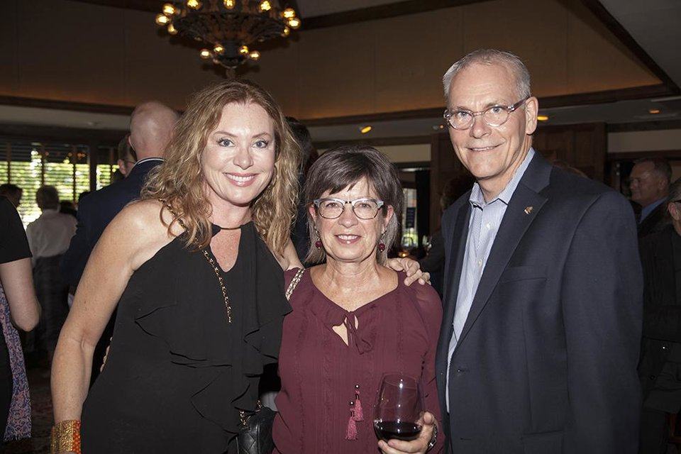 Photo - Lisa Love, Susie and Doug Stussi. PHOTO PROVIDED