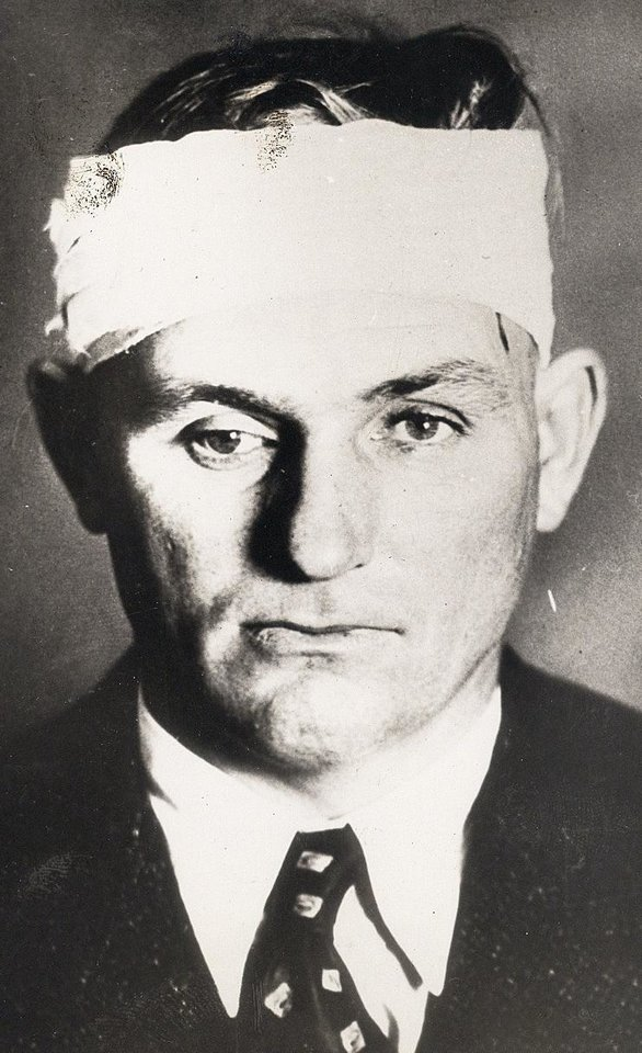 Photo - Percy Boyd Commerce police chief, who was wounded and kidnapped by Clyde Barrow.