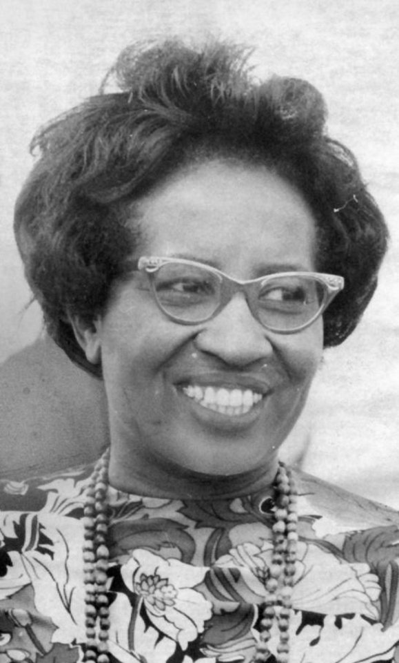 Photo - Clara Luper, civil rights activist  8/25/69