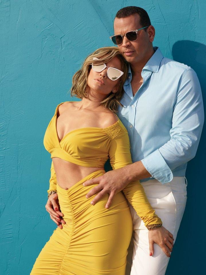 Photo - Jennifer Lopez and Alex Rodriguez have partnered with Quay Australia on a line of sunglasses.