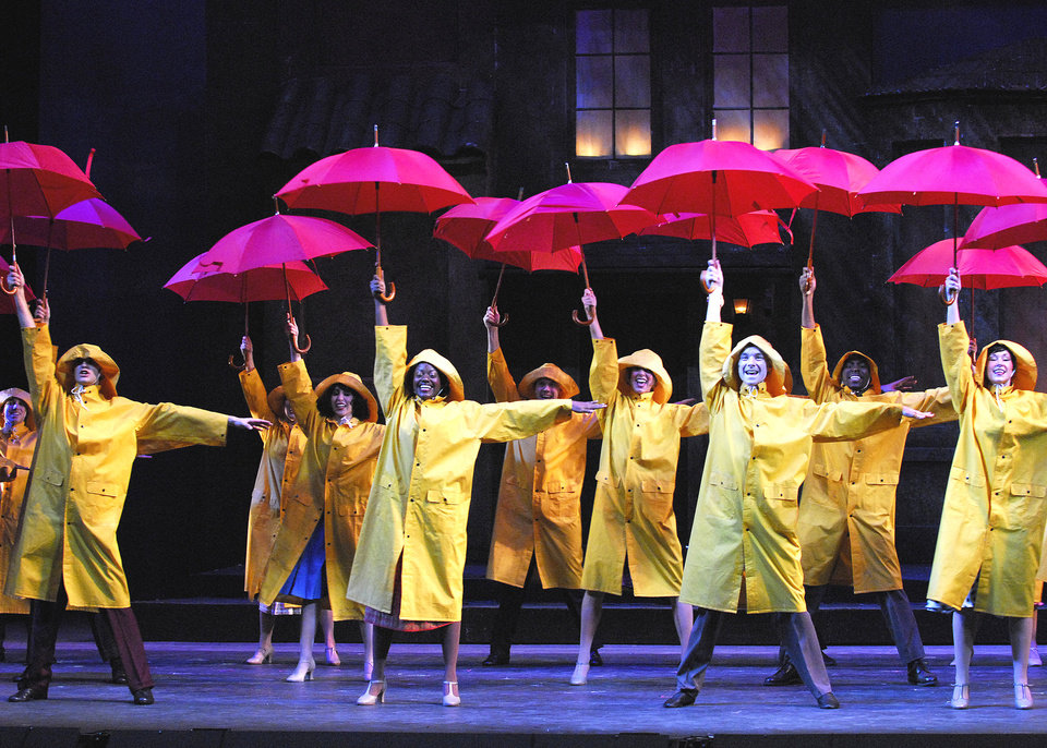 Photo - A scene from the 2007 production of Singin' in the Rain, which will return this summer.