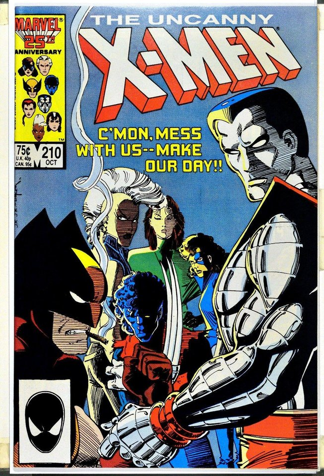 Photo -  This is a Chris Claremont-written issue of