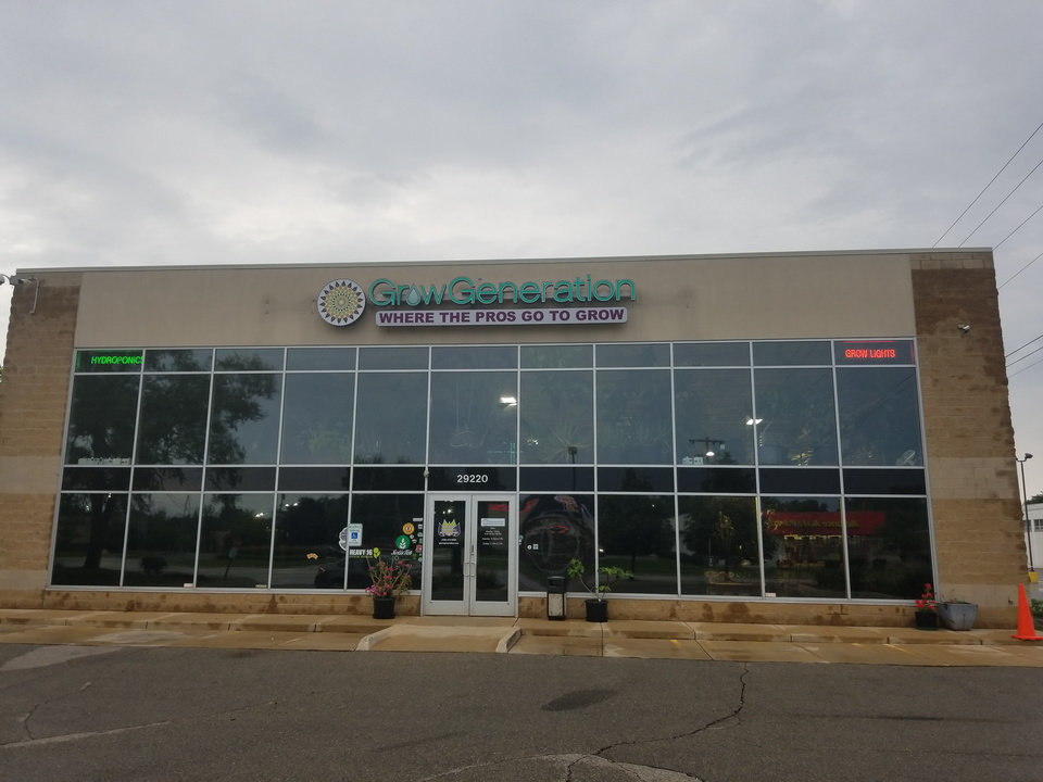 Photo -  A GrowGeneration warehouse and retail showroom is shown in Livonia, Michigan. The Denver-based company plans to open a similar location in Oklahoma City on Oct. 1. [Photos provided]