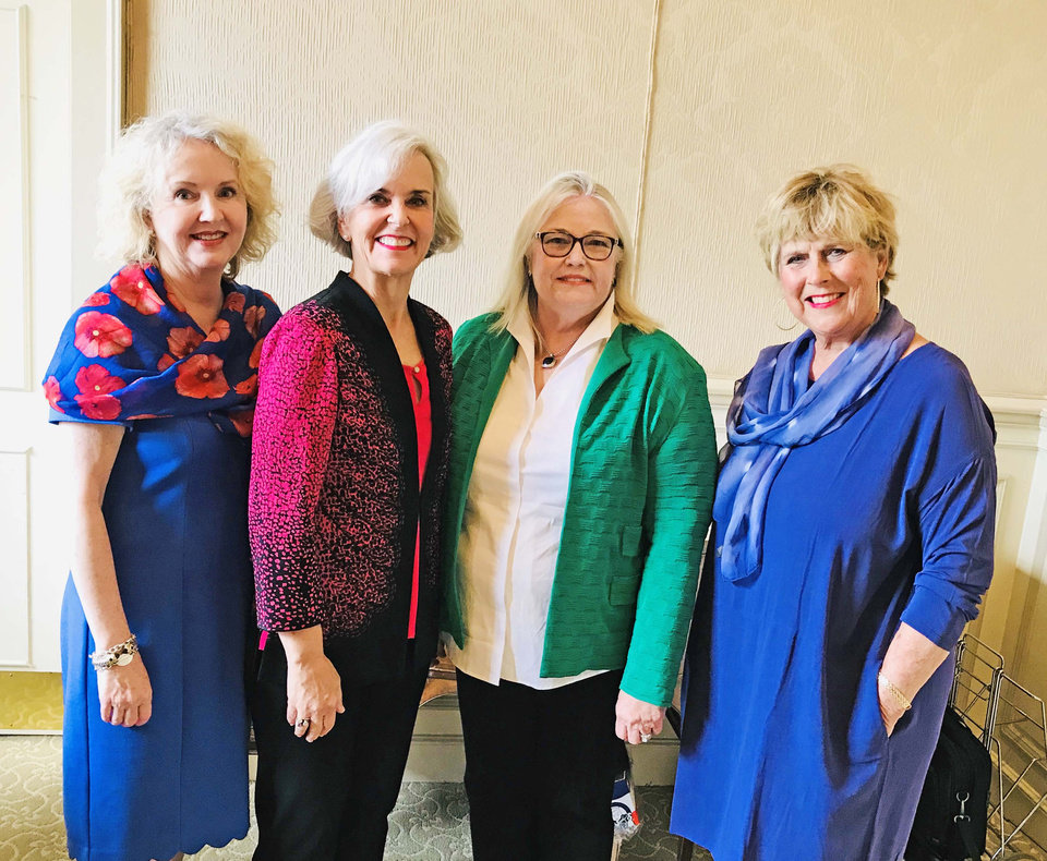Photo - Cindy Henderson, Andrea Aven, Teresa Cales, Jeanne Westerhoff. PHOTO BY KRISTEN FERATE