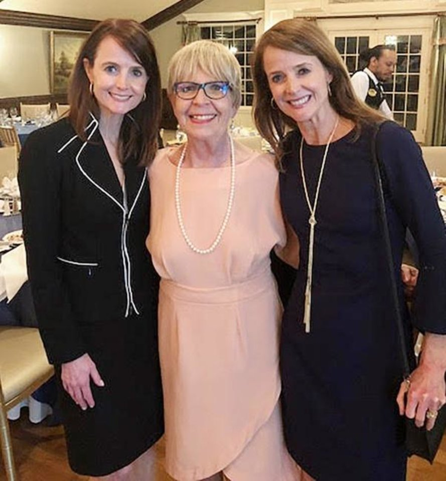 Photo -  Elaine DeGiusti, Marilyn Matteson Edens and Maria Abbott. [PHOTOS PROVIDED]