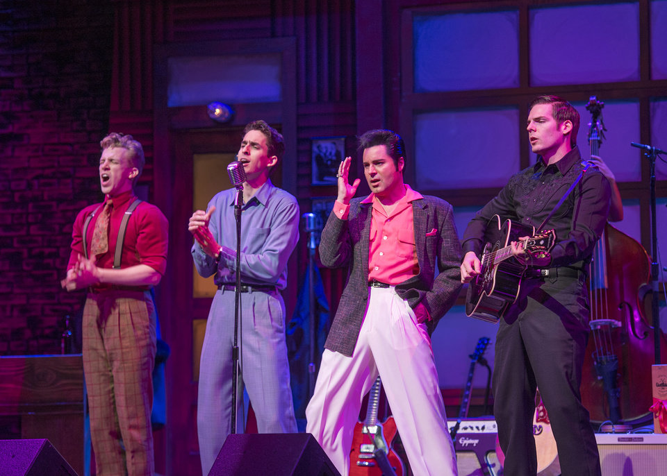 "Photo - ""Million Dollar Quartet"""