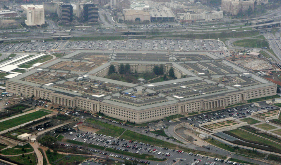 Photo -  The Pentagon in Washington. [AP Photo/Charles Dharapak, File]