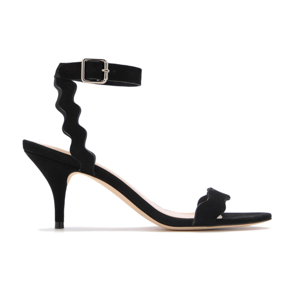 Photo - Loeffler Randall medium-heel Reina  in black. Available at Heirloom Shoe. Photo provided.