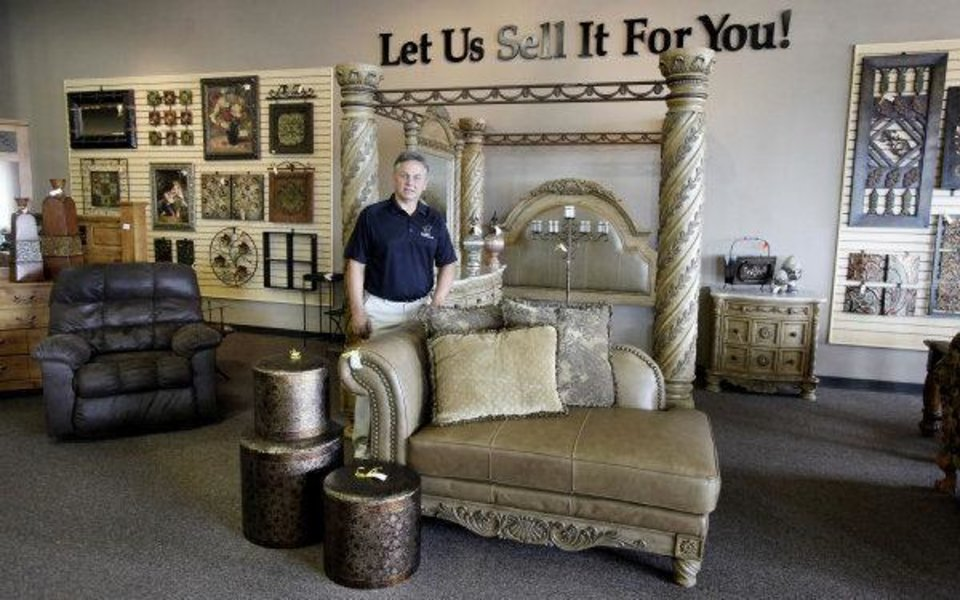 Jon Wavra (CQ JON WAVRA), Owner Of The Oklahoma City Furniture Buy  Consignment Store. PAUL B. SOUTHERLAND   PAUL B. SOUTHERLAND ...
