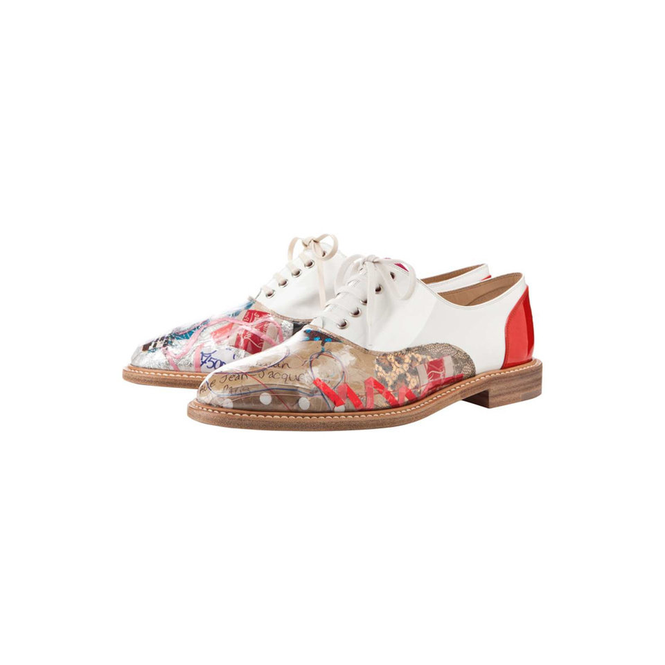 a1ab9c24301 The Havana Woman Trash design is part of the 20th Anniversary Capsule  Collecton celebrating 20 of the most iconic shoes of Christian Louboutin.