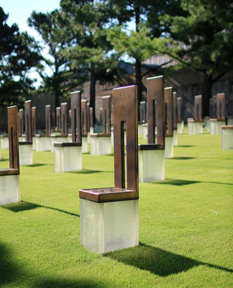 Photo - The Oklahoma City National Memorial & Museum is shown Saturday, July 25, 2015. Photo by Doug Hoke, The Oklahoman Archives