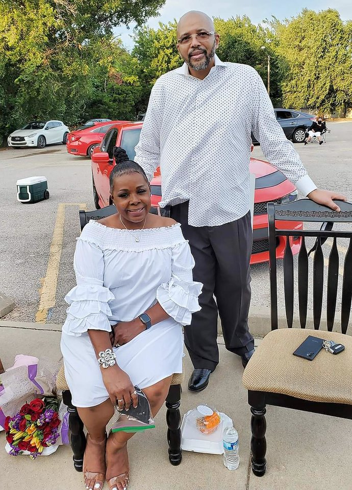 Photo - Stephanie Crawford, Rev. D. Lavel Crawford. PHOTO PROVIDED