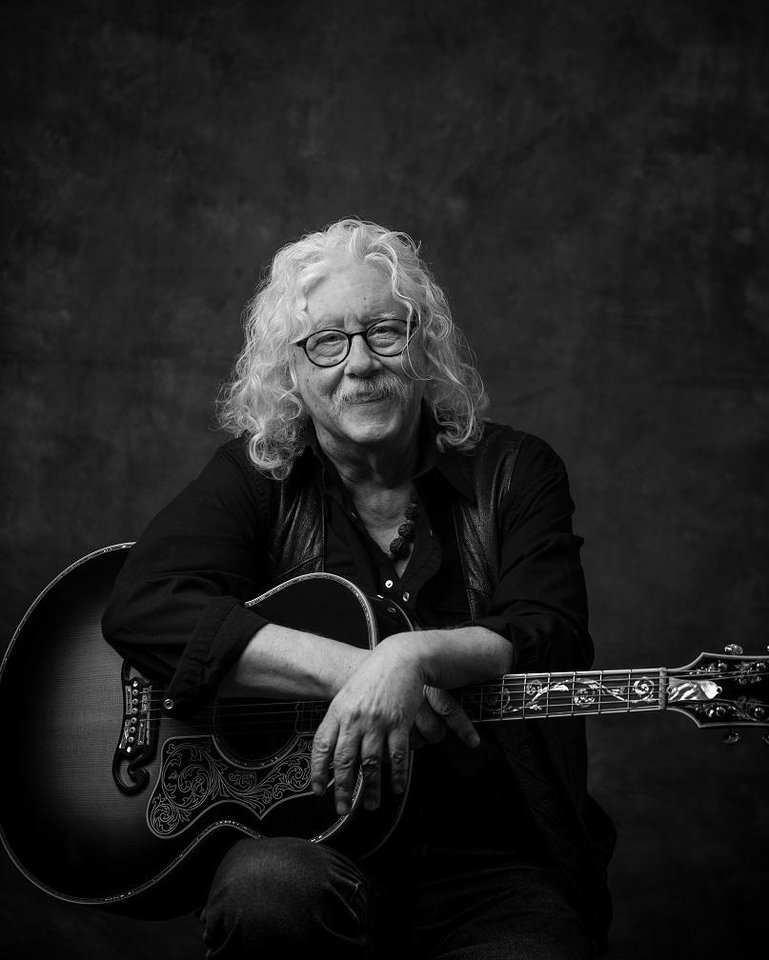 Photo - Arlo Guthrie. Photo provided