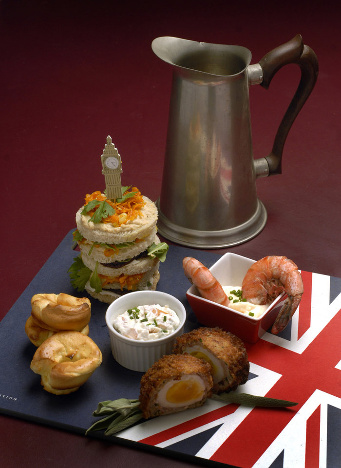english pub fare goes on the menu for olympic watch