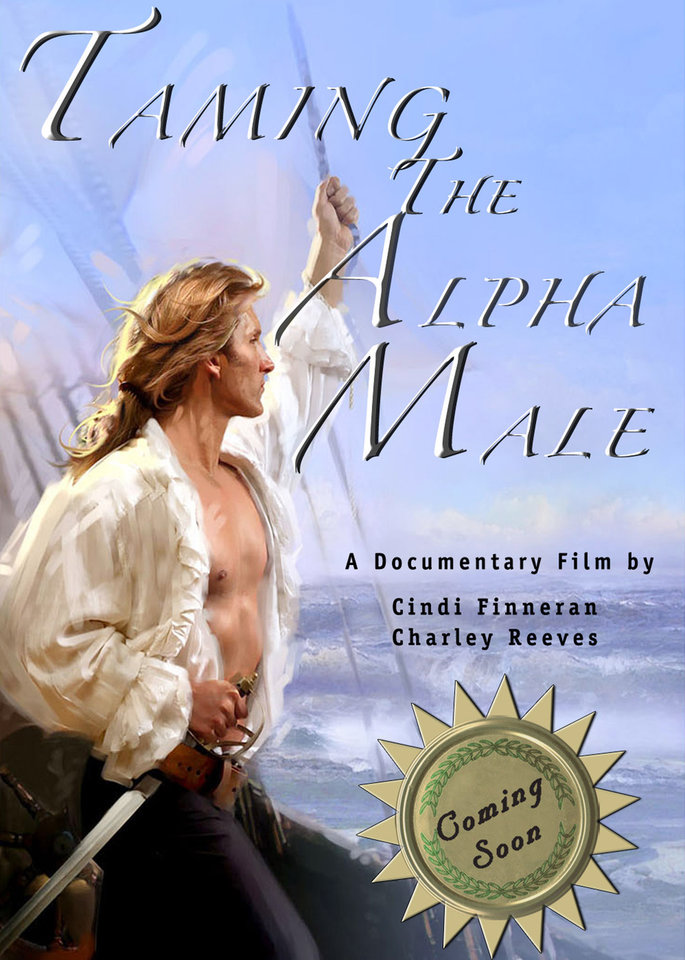 Photo - A graphic promoting the documentary, Reading, Riting, Romance: Taming the Alpha Male,