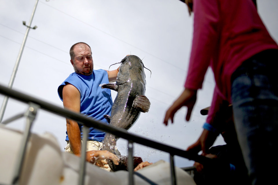 After 18 years, the Okie Noodling Tournament remains quite the show