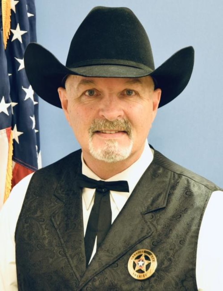 Photo -  Canadian County Sheriff Chris West. [Photo provided]