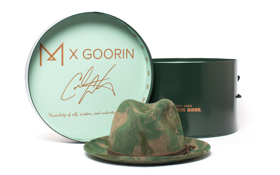 Photo - Packaging for the Fresh Greens by Melo xGoorin hat collection.