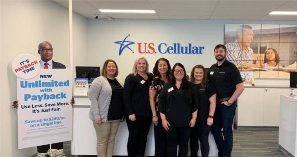 Photo -  U.S. Cellular has 624 employeees throughout Oklahoma.