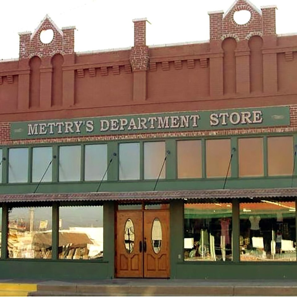 Photo -  The  building that houses Mettry's Department Store in Wynnewood is being renovated but will retain a vintage feel. [Photo provided]