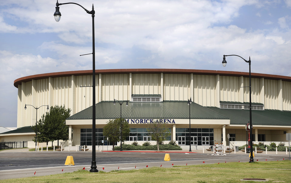 Photo -  The Oklahoma State Fair board is hoping the Oklahoma City Council will include a new coliseum to replace the 51-year-old Jim Norick Arena as part of a MAPS 4 to be sent to voters next winter. [Photo by Jim Beckel, The Oklahoman Archives]