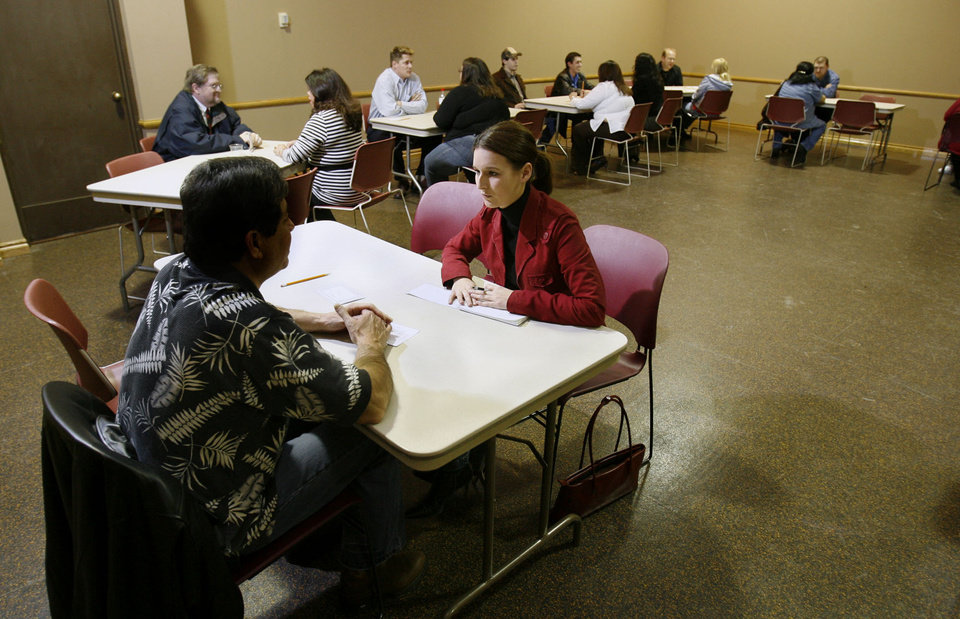 speed dating library event