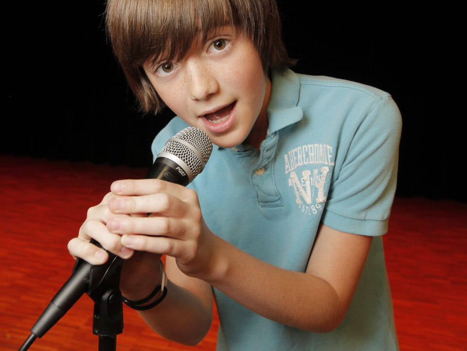 Photo - Greyson Chance, who has become a YouTube phenomenon with his performance of