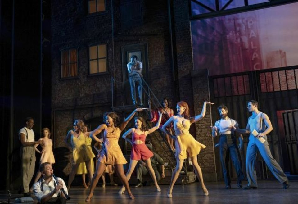 Photo -  The cast of Roundabout Theatre Company's Tony Award-nominated production of