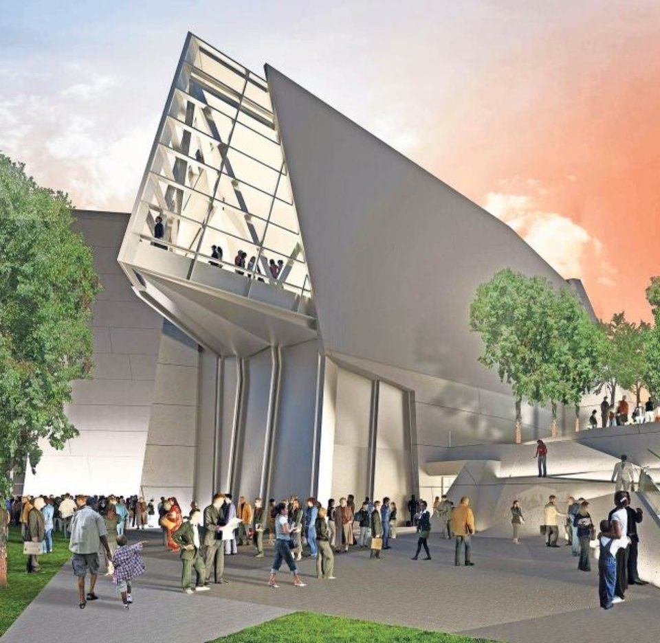 Photo -  This is a rendering of the Liberation Pavilion, opening in 2021. [THE NATIONAL WWII MUSEUM]