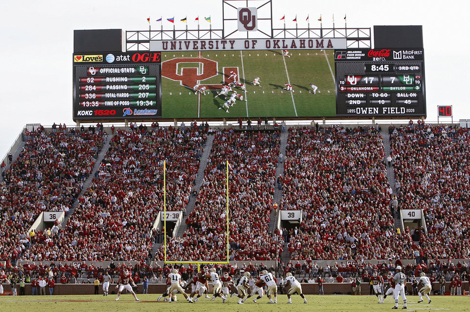 OU by the numbers: Plenty of plays for Sooners