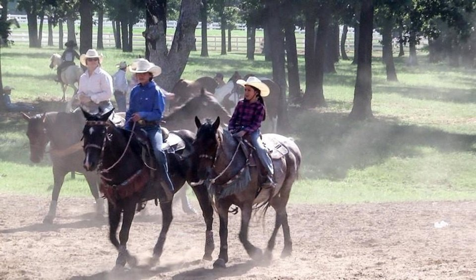 "Photo - Colorado-based Hodge Productions will begin filming the new season of the nationally televised series ""Little Britches Rodeo"" Tuesday in Guthrie. [Photo provided]"