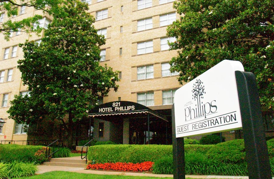 The Hotel Phillips In Bartlesville Is Being Converted Into A Senior Housing Complex Photo By Michelle Martin For Tulsa World