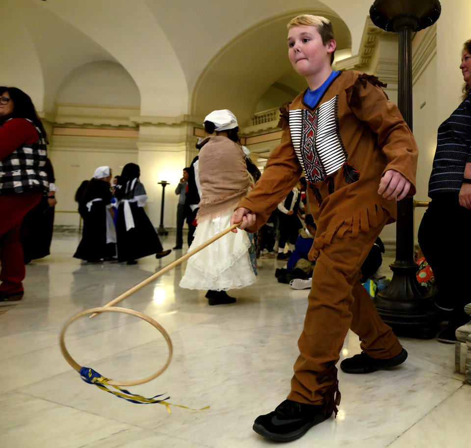 Founding Fathers highlight Colonial Day at state Capitol