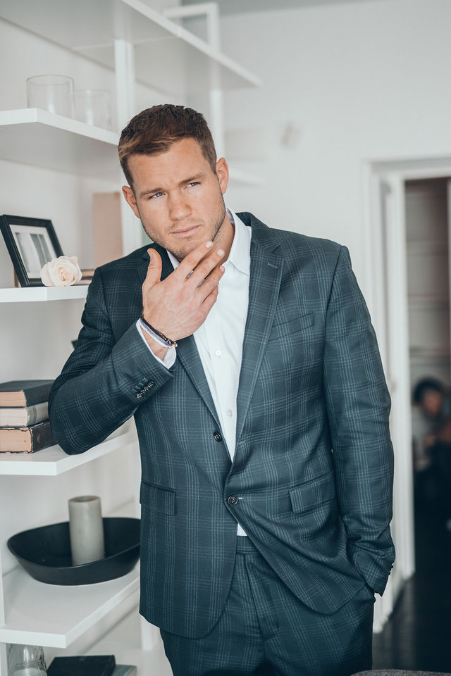Photo - Bachelor Colton Underwood has a bracelet set that looks good and gives back.
