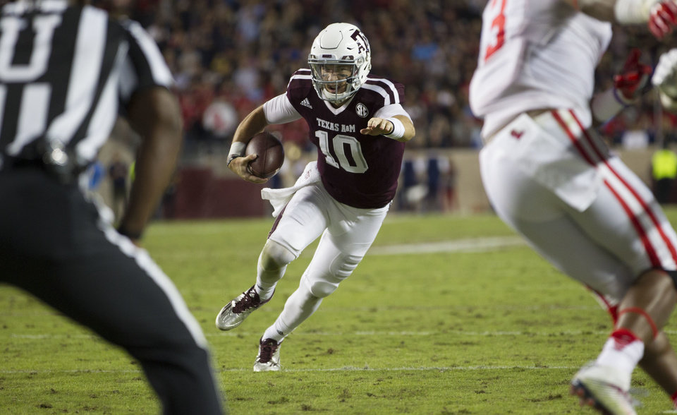 Patterson wows in debut, Ole Miss rallies to beat A&M 29-28 - Article ...
