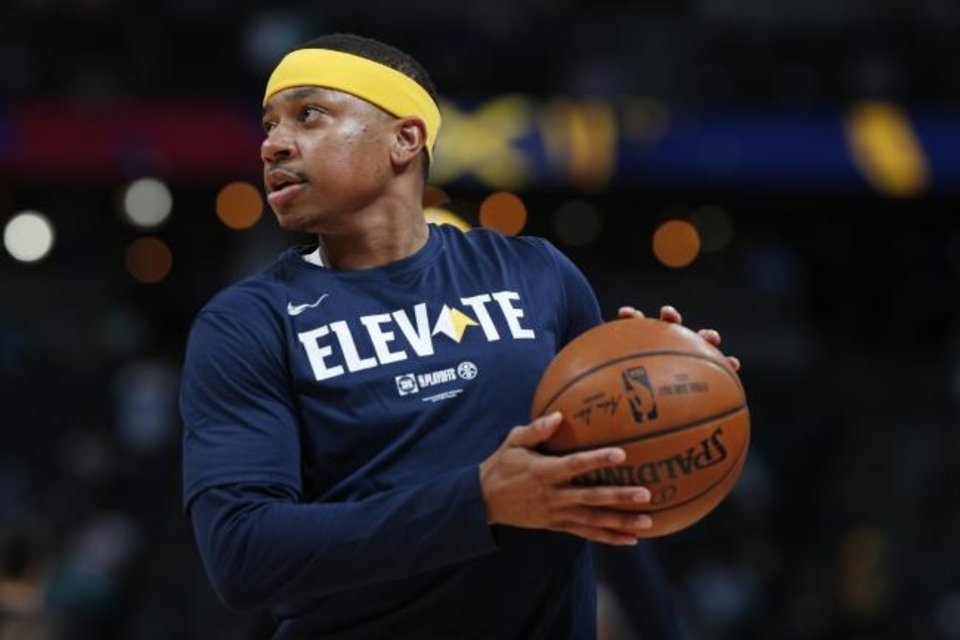 Photo -  Could Isaiah Thomas evelate his career by joining the Thunder? [AP Photo/David Zalubowski]
