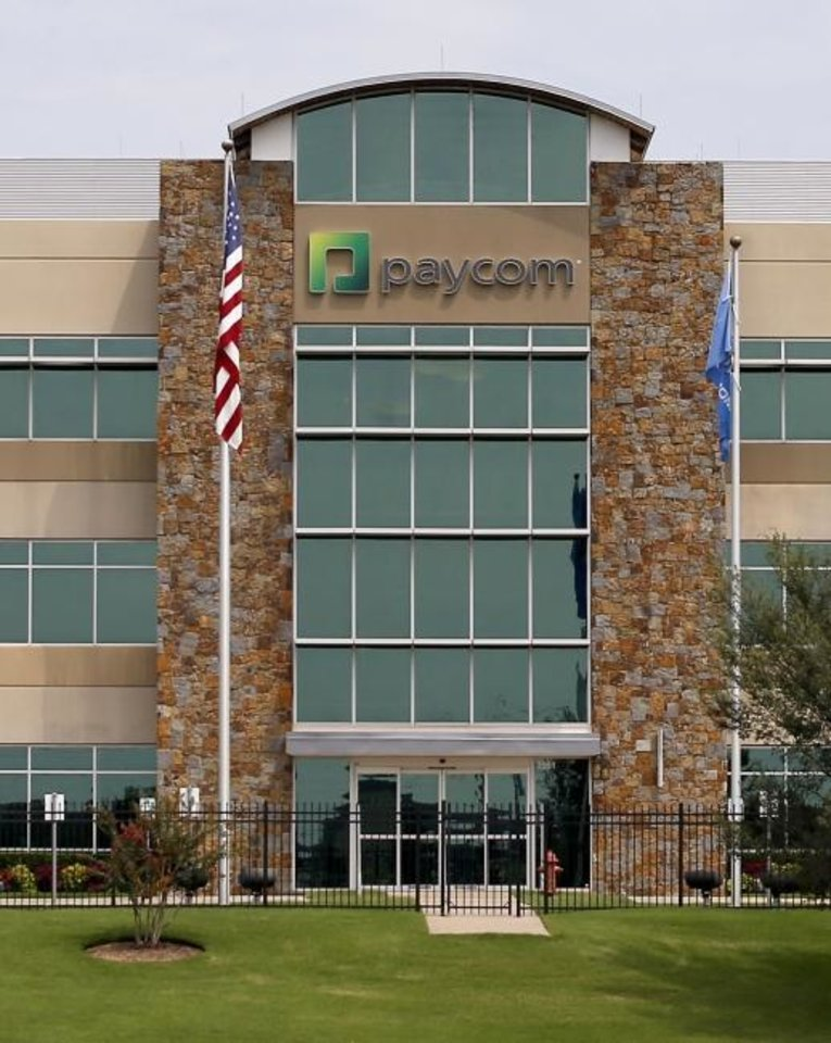 Photo -  Paycom finished third in the Large Employer category of the Top Workplaces national competition. [Bryan Terry/The Oklahoman]