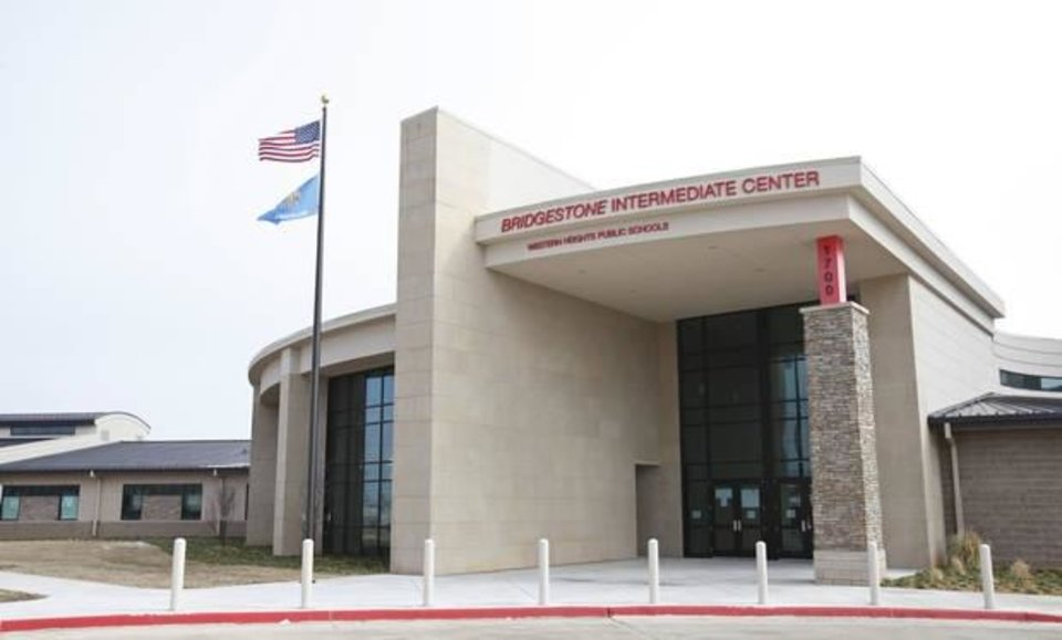 Photo -  Western Heights intermediate school, Bridgestone Intermediate Center, Feb. 14, 2012.  [The Oklahoman Archives]