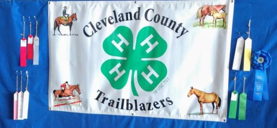 Photo -  The Cleveland County 4-H Trailblazers Horse Club will sponsor the annual Shelly Smith Memorial — Wooly Fun Show on Jan. 25.at the Cleveland County Fairgrounds. [PHOTO PROVIDED]