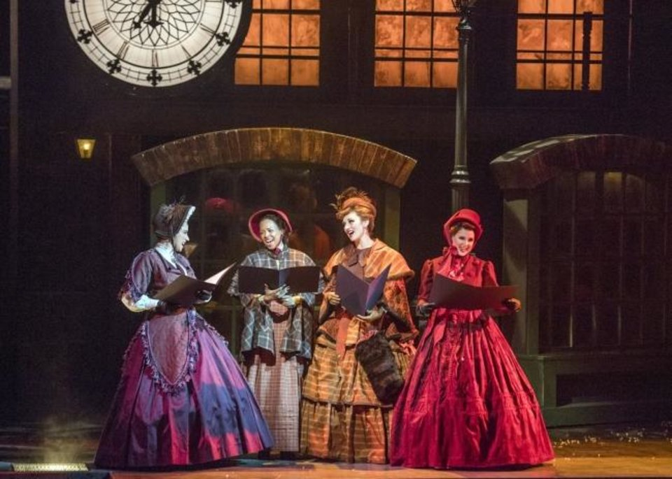 Photo -  From left, Jennifer Lynn Teel, Kizzie Ledbetter, Lexi Windsor and Susan Riley perform in Lyric Theatre's 2018 production of