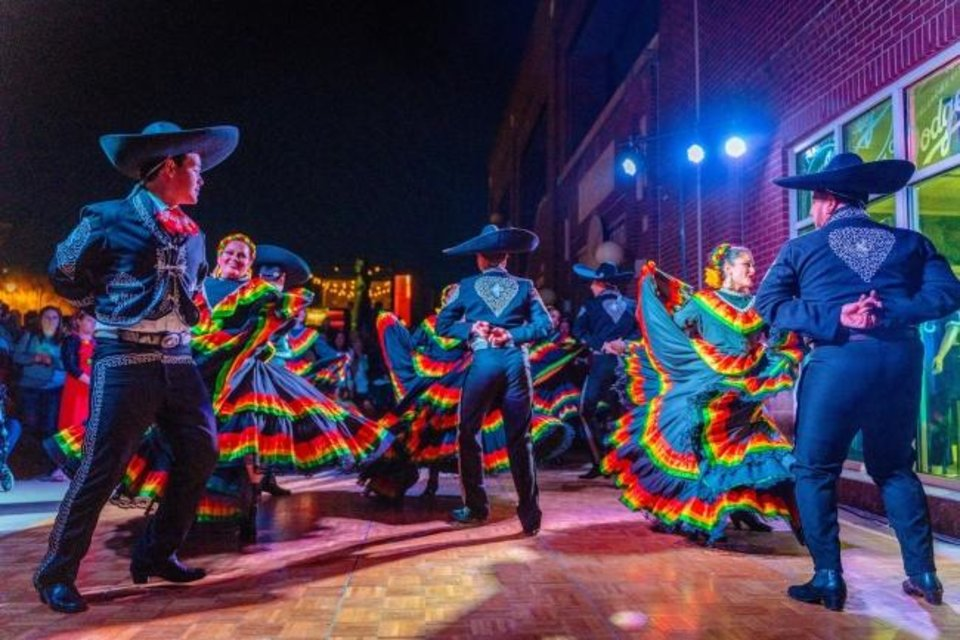 Photo -  The official kickoff for Downtown in December, the OKC Tree Lighting Festival features diverse performance groups, Santa Claus and the mayor. This year's event is set for 5 to 7 p.m. Friday on the Third Base Plaza at the Chickasaw Bricktown Ballpark. [Photo provided]