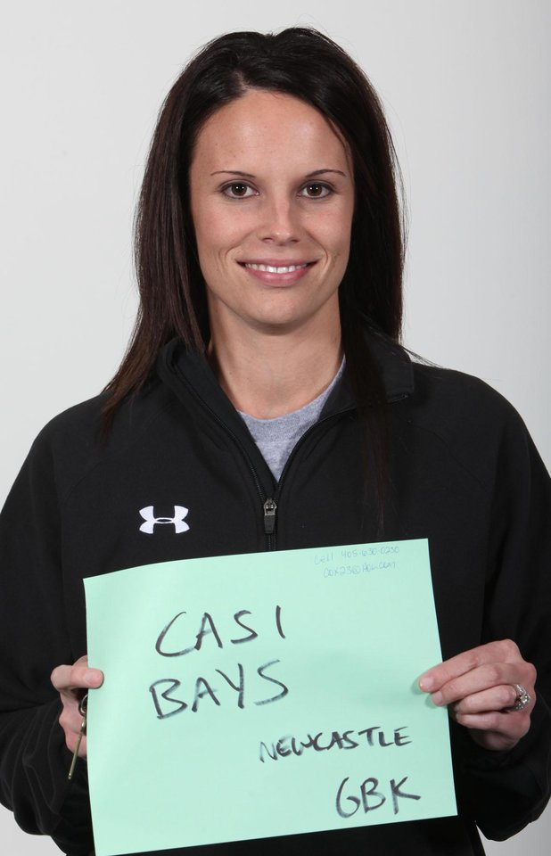 Photo - WINTER HIGH SCHOOL SPORTS: Mug shot of Casi Bays, girls basketball coach at Newcastle High School. Photographed on Tuesday, Nov. 18, 2009. By John Clanton, The Oklahoman ORG XMIT: KOD